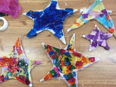 Willow Stars at Saturday Art Club