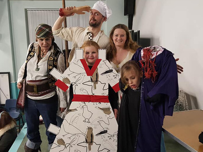 Halloween at Village Storytelling